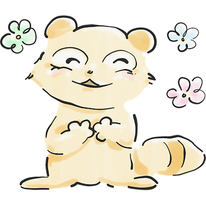 The Tanuki Twins messages sticker-6