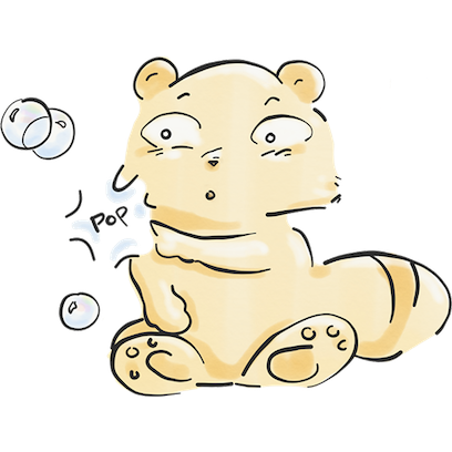 The Tanuki Twins messages sticker-3