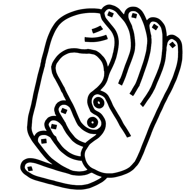 Hands – by Tobias Gutmann messages sticker-4