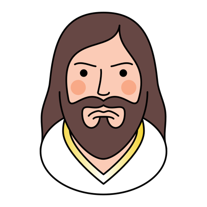 Jesucristo Stickers Lite messages sticker-2