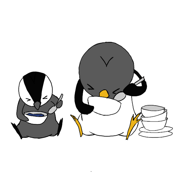 Penguin Stickers! messages sticker-11