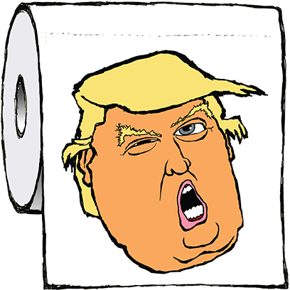 Trump Fat Heads messages sticker-1