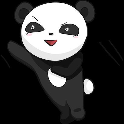 Panda Pal messages sticker-5