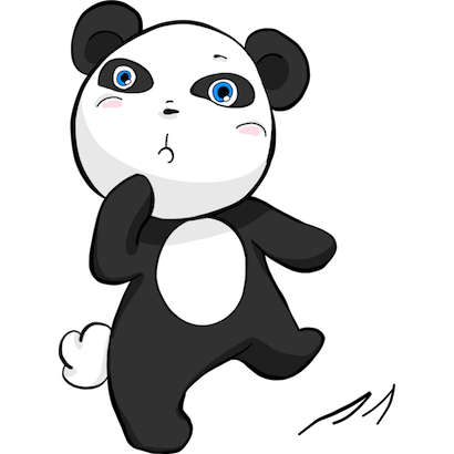 Panda Pal messages sticker-0