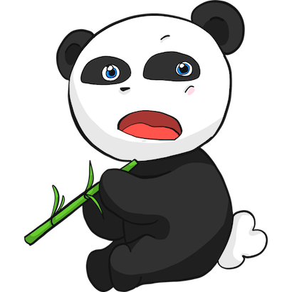 Panda Pal messages sticker-2
