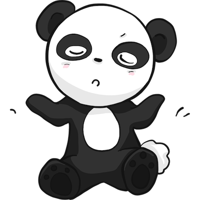 Panda Pal messages sticker-1