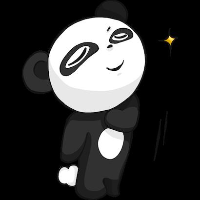 Panda Pal messages sticker-8
