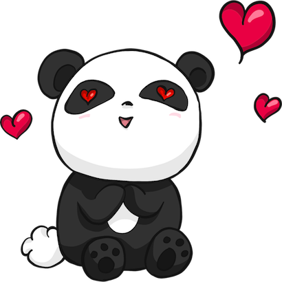 Panda Pal messages sticker-4