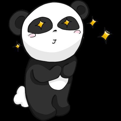 Panda Pal messages sticker-3