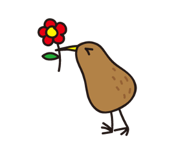 Kiwi The Lonely Bird Sticker messages sticker-2