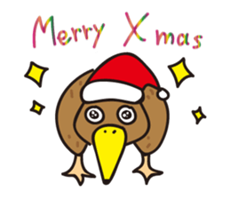 Kiwi The Lonely Bird Sticker messages sticker-8