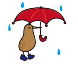 Kiwi The Lonely Bird Sticker messages sticker-5