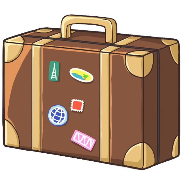 Travel Stickers: Emojis by Zuzis LLC