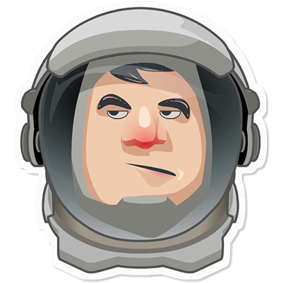 Planet Commander: Space action messages sticker-6