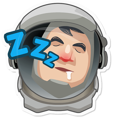Planet Commander: Space action messages sticker-3