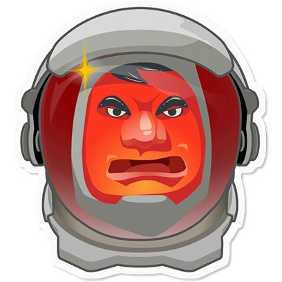 Planet Commander: Space action messages sticker-7