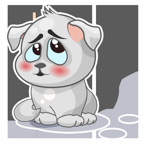 Baxter The Dog messages sticker-2