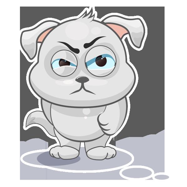 Baxter The Dog messages sticker-0