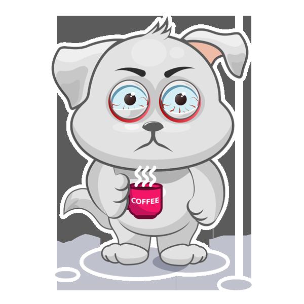 Baxter The Dog messages sticker-3