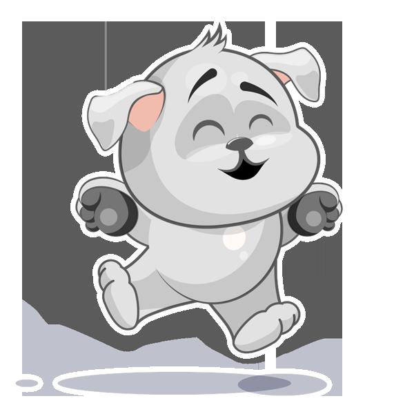 Baxter The Dog messages sticker-6