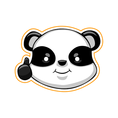 Cute Panda - iMessage Stickers messages sticker-2