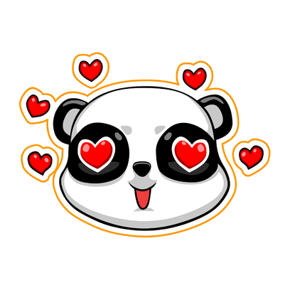 Cute Panda - iMessage Stickers messages sticker-0