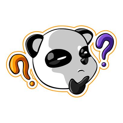 Cute Panda - iMessage Stickers messages sticker-8