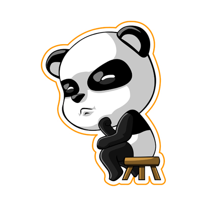 Cute Panda - iMessage Stickers messages sticker-6