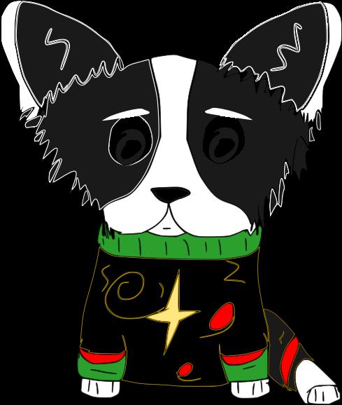 Cute Corgi Christmas messages sticker-3