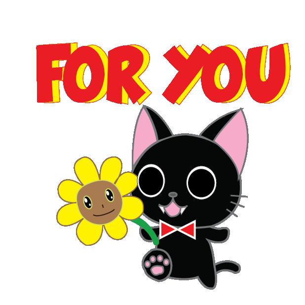 Vampire Kitty Stickers messages sticker-6