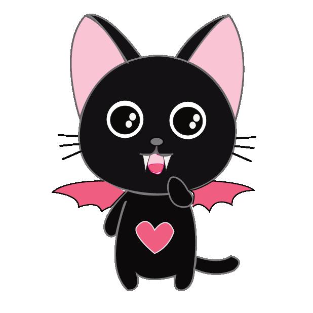 Vampire Kitty Stickers messages sticker-0