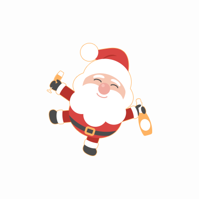 Santa Claus Stickers messages sticker-8