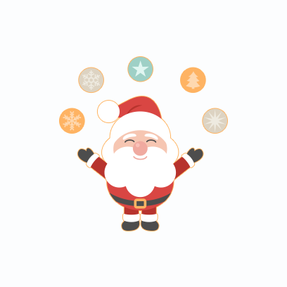 Santa Claus Stickers messages sticker-10