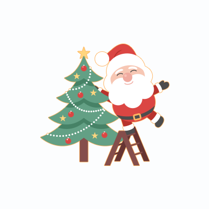 Santa Claus Stickers messages sticker-2