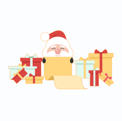 Santa Claus Stickers messages sticker-6