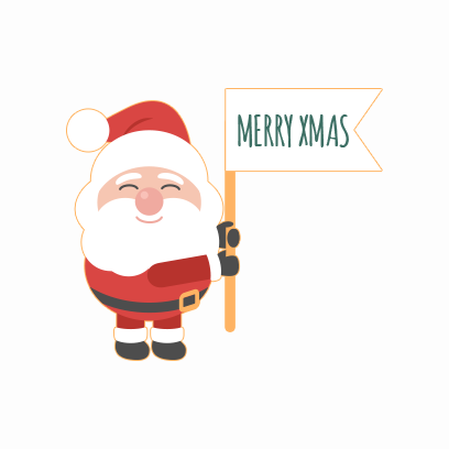 Santa Claus Stickers messages sticker-11