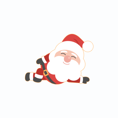Santa Claus Stickers messages sticker-0