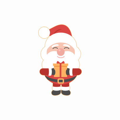 Santa Claus Stickers messages sticker-9