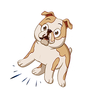 Dog Town: Pet Simulation Game messages sticker-8
