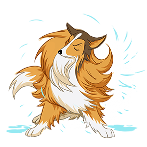 Dog Town: Pet Simulation Game messages sticker-0