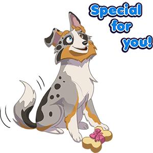 Dog Town: Pet Simulator Games messages sticker-1