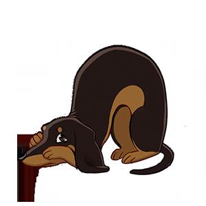 Dog Town: Pet Simulator Games messages sticker-0