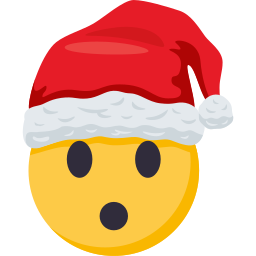 Santa Smiley Pack: by EmojiOne messages sticker-3