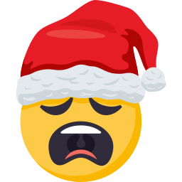 Santa Smiley Pack: by EmojiOne messages sticker-6
