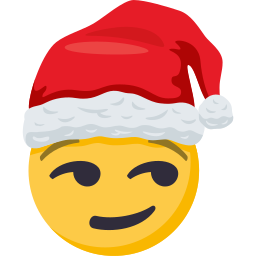 Santa Smiley Pack: by EmojiOne messages sticker-5