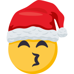 Santa Smiley Pack: by EmojiOne messages sticker-4