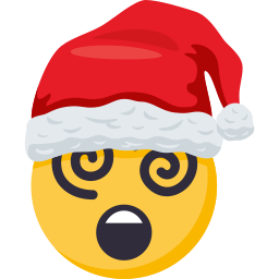 Santa Smiley Pack: by EmojiOne messages sticker-11