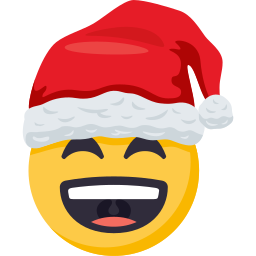Santa Smiley Pack: by EmojiOne messages sticker-10