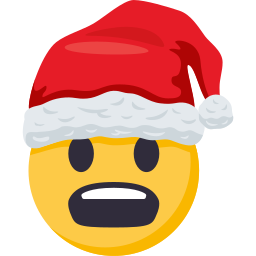 Santa Smiley Pack: by EmojiOne messages sticker-2