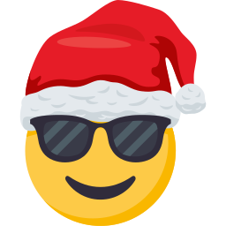 Santa Smiley Pack: by EmojiOne messages sticker-1